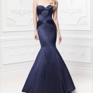 Truly Zac Posen Strapless Fit and Flare Dress